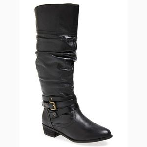 EUC Steve Madden leather boots